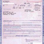 カリフォルニアの車の権利書(CERTIFICATE OF TITLE)と登録証(REGISTRATION CARD)について