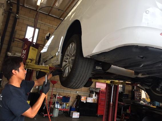 販売前点検整備と納車前110項目以上の点検整備