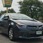 [新着車両紹介] 2017 Toyota Corolla LE